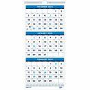 """House of Doolittle 3-month Vertical 17"""" Wall Calendar"""