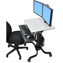 Ergotron WorkFit-C Dual Sit-Stand Workstation