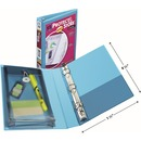 """Avery® Protect & Store 5-1/2"""" x 8-1/2"""" Mini Durable View Binders with Round Rings"""