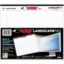 Roaring Spring Wide Landscape White Writing Pads