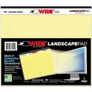 Roaring Spring Wide Landscape Canary Writing Pads
