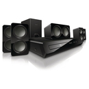 Philips Immersive Sound HTS3531 5.1 Home Theater System - 300 W RMS - DVD Player - Dolby Digital - DVD-RW, DVD+RW, CD-RW - DVD Video, VCD, SVCD, MPEG-1, DivX Ultra, MPEG-2, MPEG-4, MPEG, AVI, DivX - HDMI - USB - iPod Supported