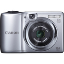 Canon PowerShot A1300 16 Megapixel Compact Camera - Silver - 2.7