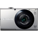 Canon PowerShot A3400 IS 16 Megapixel Compact Camera - Silver - 3