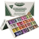 Crayola Triangular Anti-roll Crayons