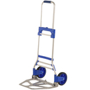 Inland ProHT Foldable Hand Truck - 220.00 lb Capacity - 2 x 7