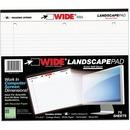 Roaring Spring Wide Landscape College-rule Pad