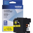 Brother Genuine Innobella LC103Y High Yield Yellow Ink Cartridge