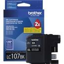 Brother Genuine Innobella LC107BK Super High Yield Black Ink Cartridge