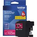 Brother Genuine Innobella LC105M Super High Yield Magenta Ink Cartridge