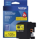 Brother Genuine Innobella LC105Y Super High Yield Yellow Ink Cartridge