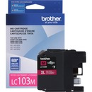 Brother Genuine Innobella LC103M High Yield Magenta Ink Cartridge
