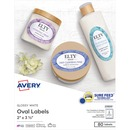 Avery® Glossy Print-to-the-Edge Oval Labels