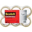 "Scotch® Shipping Packaging Tape-6 Pack, 2.83"" x 54.60 Yds"