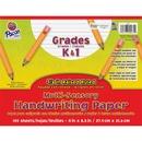 Pacon Grades K - 1 Multi - sensory Handwriting Tablet - Letter