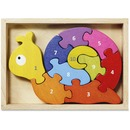 BeginAgain Toys Number Snail Puzzle