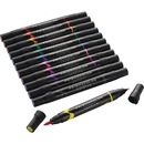 MARKERS,PRISMA,2-IN-1,152 CT