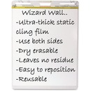 Wizard Wall Dry Erase Static Cling Film Easel Pads