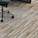 Lorell Hard Floor Rectangler Polycarbonate Chairmat