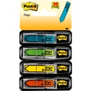 "Post-it® Message Flags, 1/2"", ""Sign and Date"", Assorted Colors"
