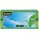 """Scotch® Magic™ Greener Tape, 3/4"""" x 900"""", 24 Boxes/Pack, 1"""" Core"""