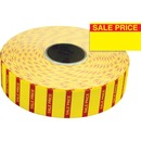 Monarch Yellow Sale Price Labels