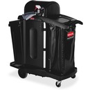 Rubbermaid Commercial High Security Executive Janitor Cleaning Cart