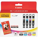 Canon CLI-226 Original Ink Cartridge/Paper Kit