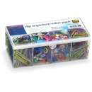 OIC Flip Lid Clip Organizer Value Pack