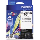 Brother Genuine LC209BK Super High Yield Black Ink Cartridge