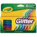 Crayola 6 Color Glitter Markers