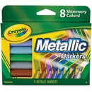 Crayola 8-color Metallic Markers