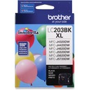 Brother Genuine Innobella LC203BK High Yield Black Ink Cartridge