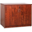 Lorell Essentials Series Cherry 2-door Storage Cabinet