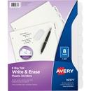 Avery® Big Tab Write & Erase Plastic Dividers