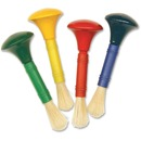 Creativity Street Wood Knob Paint Brush Set