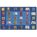 Carpets for Kids Reading Book Rectangle Seating Rug