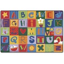 Carpets for Kids Toddler Alphabet Blocks Rug