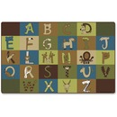 Carpets for Kids A-Z Animals Nature 12' Area Rug