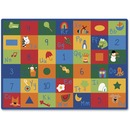 Carpets for Kids Learning Blocks Rectangle Rug