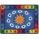 Carpets for Kids Sunny Day Learn/Play Rectangle Rug