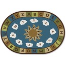 Carpets for Kids Sunny Day Learn/Play Oval Rug