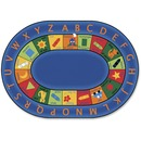 Carpets for Kids Bilingual Early Learning Oval Rug