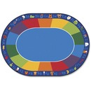 Carpets for Kids Fun With Phonics Oval Seating Rug