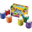 Crayola 6-color Glitter Washable Kids Paint
