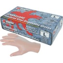 MCR Safety Powdered Vinyl Disposable Gloves
