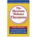 Merriam-Webster Paperback Thesaurus Printed Book