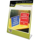 Nu-Dell One-piece Vertical Sign Holder