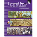 Shell Early America Leveled Texts Book Education Printed/Electronic Book for Social Studies