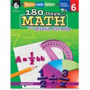 Shell Education 18 Days of Math for 6th Grade Book Education Printed/Electronic Book for Mathematics by Jodene Smith - English